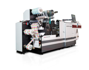 Aldus-Tronics debuts digital label press at PacPrint