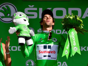 Michael Matthews In Green Jersey After Drama-Packed Day At Le Tour