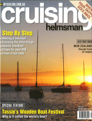 Same but different, Cruising Helmsman May issue sports new design