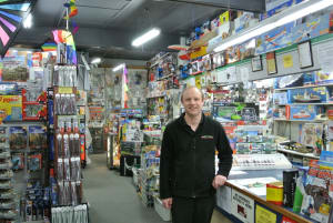 2016 Hobby Retailer of the Year – McCann's Model World, owner Shane Bastick
