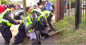 Shocking video - did reporter experience police brutality?