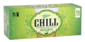 CCA launches new can for Miller Chill beers