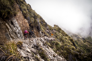 Mountain Biking the Old Ghost Road, New Zealand