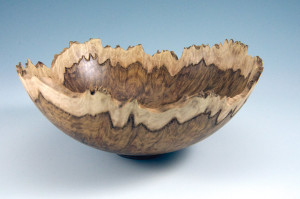 Turning and Carving a Burl Bowl