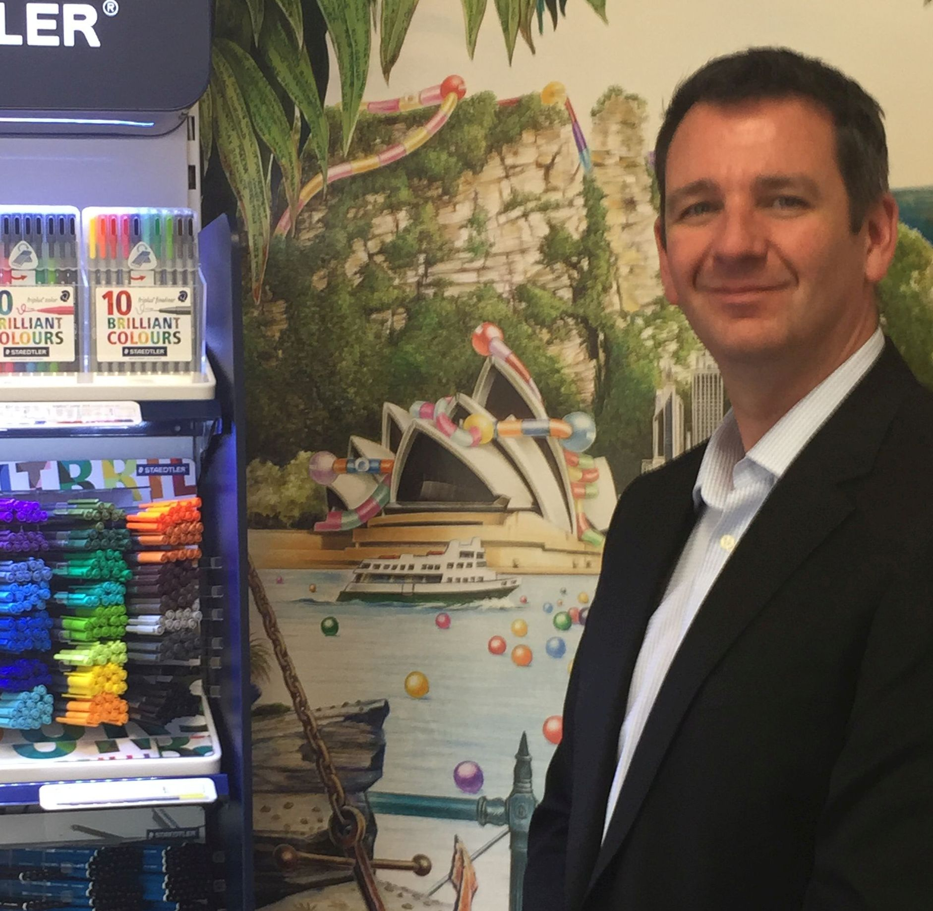 Colourful time for Staedtler's new boss