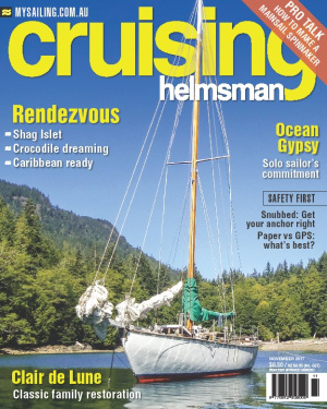 Navigate your way to the November Cruising Helmsman