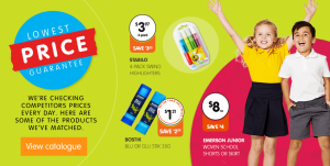 Back-to-school retail price war