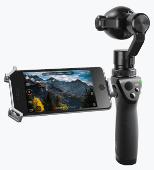 DJI updates Osmo with zoom capability