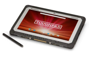 Tough tablet for outdoors work