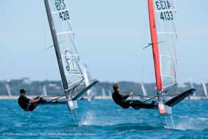 Moth Worlds penultimate day video highights from Beau Outteridge