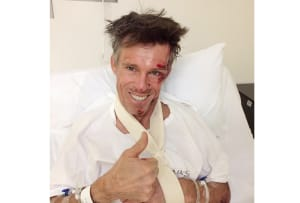 Cycling Legend Phil Anderson In Hospital After Crashing Bike