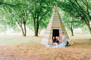 2017 Preschool Product of the Year, Toy & Hobby Retailer Industry Awards: Wooden Teepee Hideaway (range) – Plum Play Australia