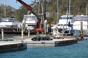 Anchorage Marina expands at Port Stephens