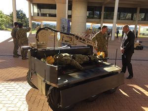 Praesidium launches air-deployable UGV at DSEI