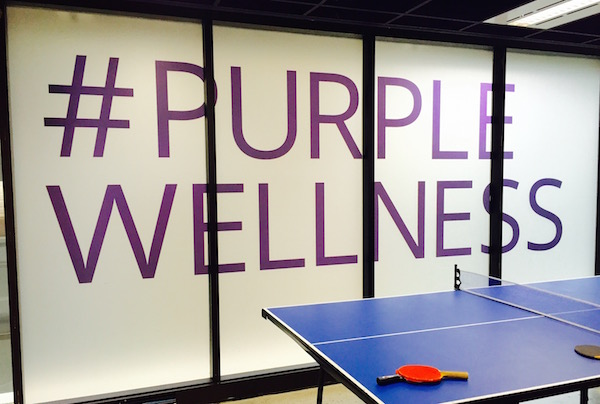 #PurpleWellness takes over Mindshare