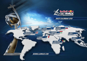 Red Bull Air Race releases 2018 World Championship Fixture