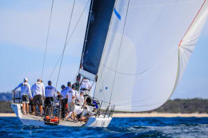 Sail Port Stephens magic finish