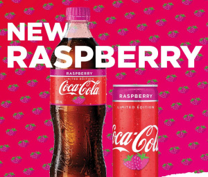 Coca-Cola launches limited-edition raspberry flavour