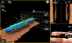 Raymarine's Axiom with RealVision 3D Sonar
