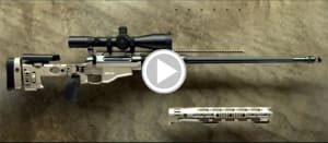 Remington MSR sniper rifle breakdown