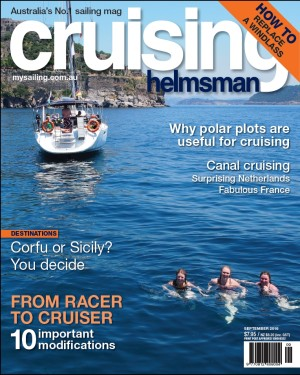 September issue out now - flying high, sailing fast and cruising inland