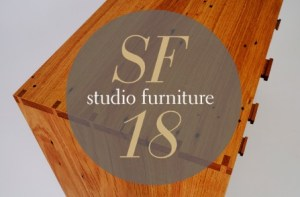 Studio Furniture 2018: Major Sponsor Announced
