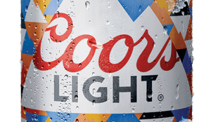 Coors Light cans change colour in the sun