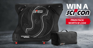 Win A Scicon AeroComfort Road 3.0 & Race Rain Bag Valued At $1300+