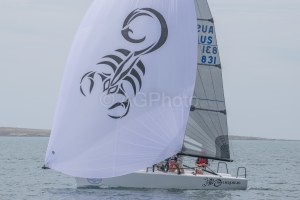 Higgins and the Scorpius team set the pace on day one of Melges 24 Nationals