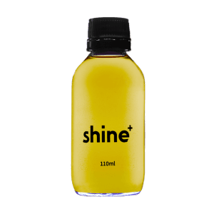 Focus drink shines with clean, simple design