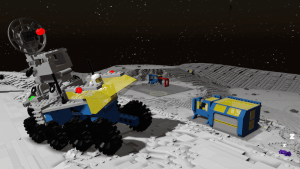 Classic Space comes to Lego Worlds