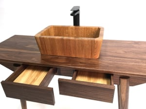 Making a Timber Bathroom Vanity