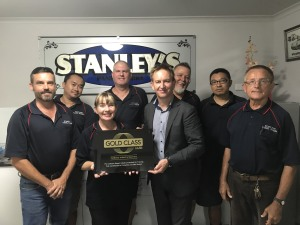 Stanley's Panel Works achieves Gold