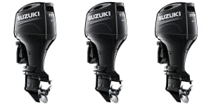Suzuki releases new four stroke engines