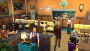 The Sims 4 Dine Out -This is what your restaurant is up against