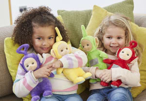 DHX Brands extends Character Options' Teletubbies master toy licence