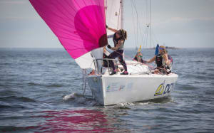 Fickle winds beset Women's Match Racing Worlds