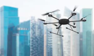 How will drones impact fashion retail?