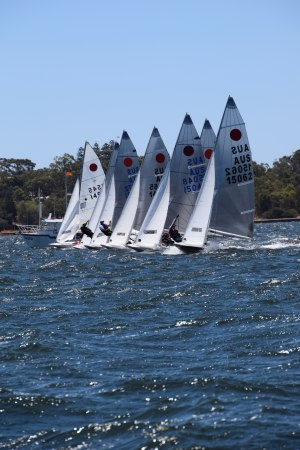 Heywood and Littledike claim third Fireball Australian Championship title
