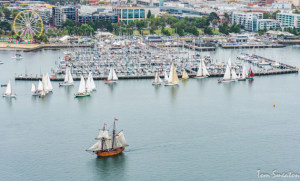 Wooden boats power up in Geelong
