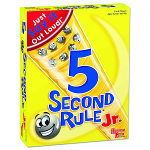 Just spit it out using the 5 Second Rule!