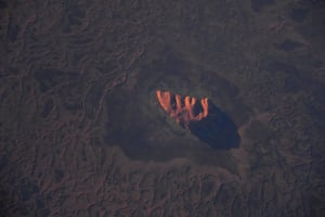 This Astronaut's photo of Uluru is out of this world