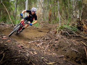 Mountain Biking at Derby in Tasmania