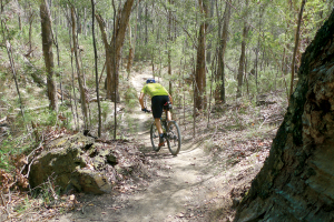 Mountain Biking in Gippsland, Vic