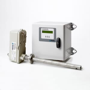 Oxygen analyser reduces emissions