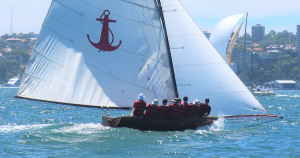Harold Cudmore's Yendys takes out Historical 18ft Skiff Championship