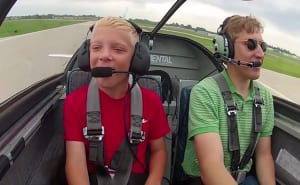 FRIDAY FLYING VIDEO: 25 Years of Young Eagles