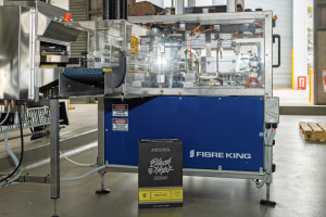 Fibre King creates world-first mini casepacker