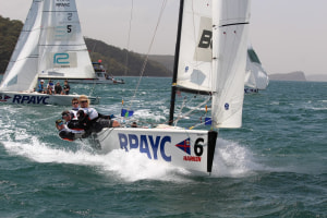 Countdown on and special guests for Harken International Youth Match Racing Championship