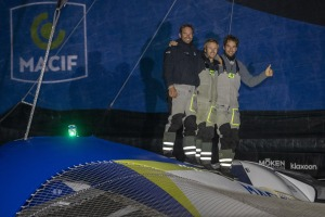 MACIF and Actual Leader complete the Brest Atlantiques podium